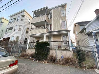 Multi Family Home Sold in Bridgeport CT 06608. Old  house near waterfront.