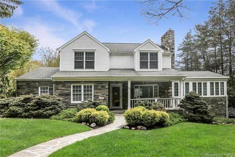 Single Family Home Sold in Fairfield CT 06890. Colonial cape cod house near waterfront with 2 car garage.