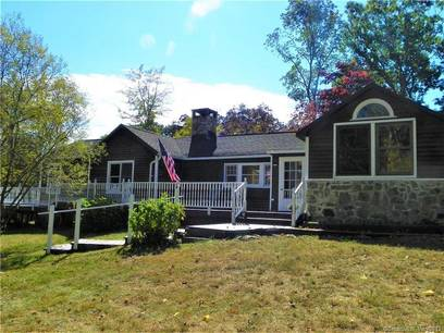 Single Family Home Sold in New Fairfield CT 06812. Old ranch house near waterfront with 2 car garage.