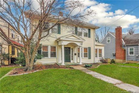 Single Family Home Sold in Stamford CT 06906. Old colonial house near waterfront with 2 car garage.
