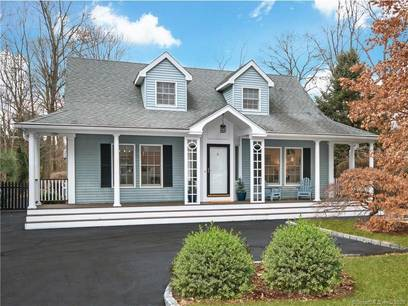 Single Family Home Sold in Norwalk CT 06853.  cape cod house near beach side waterfront.
