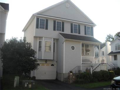 Condo Home Sold in Stratford CT 06614.  house near beach side waterfront with 1 car garage.
