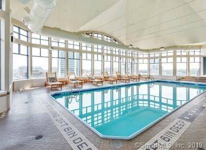 Condo Home Sold in Stamford CT 06901.  house near waterfront with swimming pool and 1 car garage.