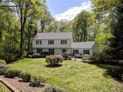Single Family Home Sold in Weston CT 06883. Colonial house near beach side waterfront with 2 car garage.