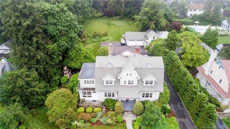 Single Family Home Sold in Stamford CT 06902. Old colonial house near beach side waterfront with 2 car garage.