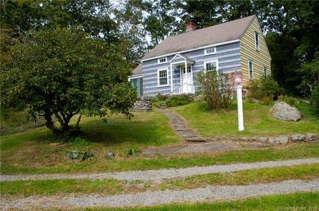 Single Family Home Sold in Weston CT 06883. Old  cape cod house near waterfront.