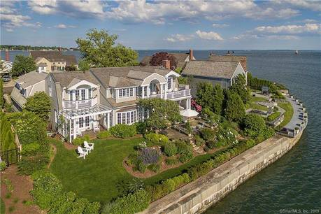 Luxury Single Family Home Sold in Stamford CT 06902. Colonial house near beach side waterfront with 2 car garage.