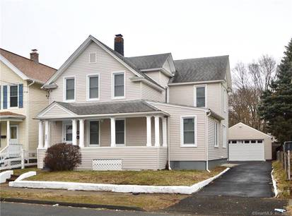 Multi Family Home Sold in Stratford CT 06615. Old  house near beach side waterfront with 2 car garage.