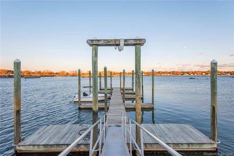 Single Family Home For Sale in Stamford CT 06902.  house near waterfront.
