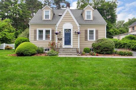 Single Family Home Sold in Fairfield CT 06825. Old  cape cod house near beach side waterfront with 2 car garage.