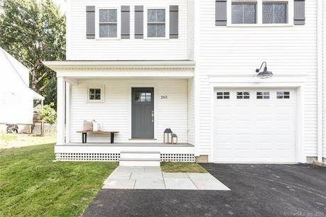 Condo Home Sold in Fairfield CT 06824.  townhouse near beach side waterfront with 1 car garage.