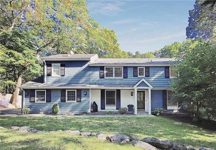 Single Family Home Sold in Stamford CT 06903. Colonial house near beach side waterfront with 2 car garage.