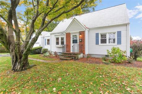 Single Family Home Sold in Stamford CT 06906.  cape cod house near waterfront.