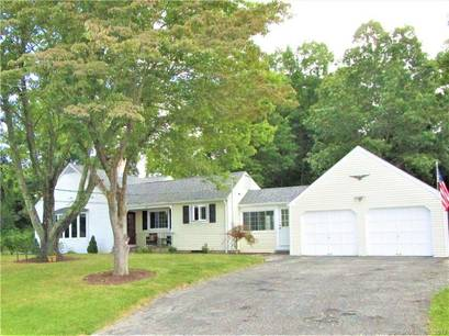 Single Family Home Sold in Danbury CT 06810.  cape cod house near waterfront with 2 car garage.