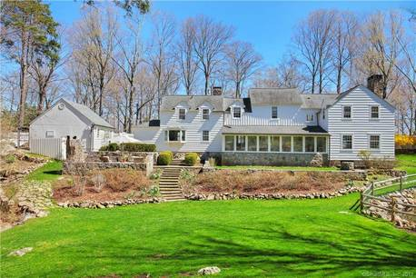 Single Family Home Sold in Stamford CT 06903. Old colonial, antique house near lake side waterfront with 2 car garage.