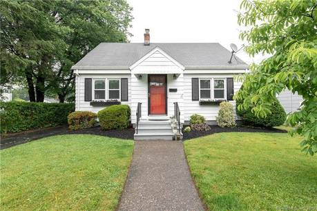 Single Family Home Sold in Stratford CT 06614.  cape cod house near waterfront.