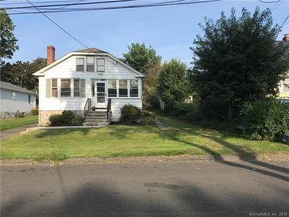 Single Family Home Sold in Stratford CT 06614. Old ranch bungalow house near beach side waterfront with 1 car garage.
