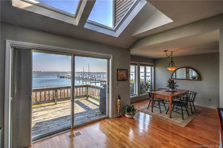 Condo Home Sold in Stratford CT 06615.  townhouse near waterfront with swimming pool and 1 car garage.