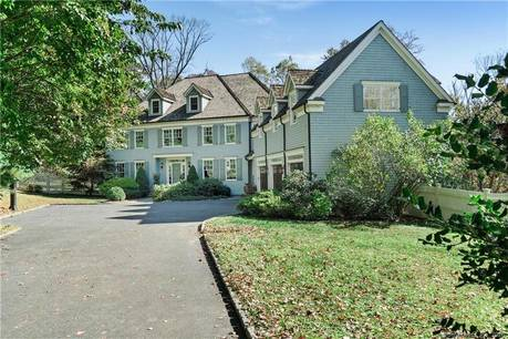 Mansion Sold in New Canaan CT 06840. Big colonial house near waterfront with swimming pool and 3 car garage.