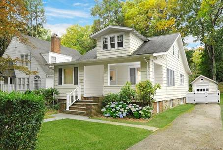 Single Family Home Sold in Greenwich CT 06807. Old ranch house near waterfront with 2 car garage.