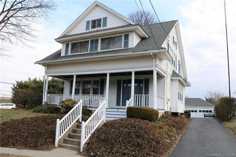 Single Family Home Sold in Stratford CT 06615. Old colonial house near beach side waterfront with 3 car garage.