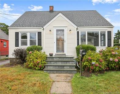 Single Family Home Sold in Stratford CT 06615.  cape cod house near waterfront.