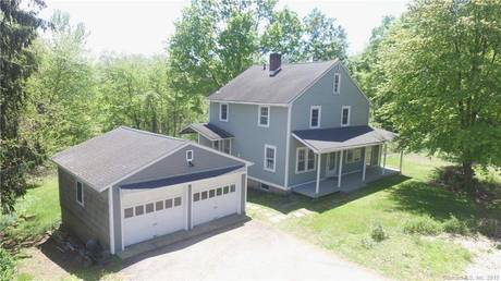 Single Family Home Sold in Westport CT 06880. Old colonial farm house near waterfront with 2 car garage.