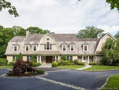 Mansion Sold in Wilton CT 06897. Big colonial house near waterfront with 4 car garage.