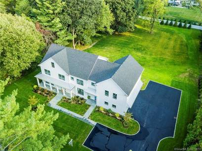 Luxury Single Family Home Sold in Westport CT 06880.  farm house near beach side waterfront with 3 car garage.