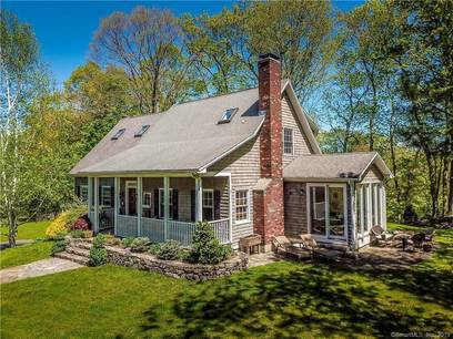 Single Family Home Sold in Bethel CT 06801.  cape cod house near lake side waterfront with 3 car garage.