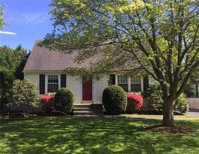 Single Family Home Sold in Westport CT 06880.  cape cod house near beach side waterfront with 1 car garage.