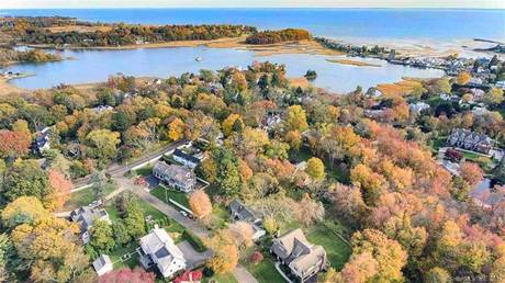 Single Family Home Sold in Westport CT 06880. Contemporary, ranch house near beach side waterfront with 2 car garage.