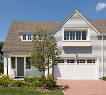 Condo Home Sold in Darien CT 06820.  townhouse near beach side waterfront with swimming pool and 2 car garage.