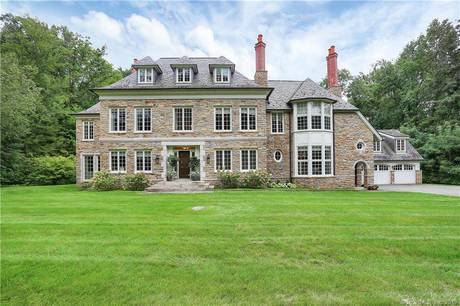Luxury Single Family Home Sold in Greenwich CT 06831. Colonial house near waterfront with 3 car garage.