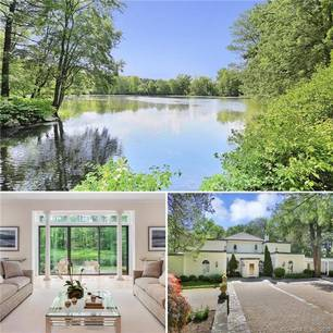 Single Family Home Sold in Greenwich CT 06831. Old mediterranean house near river side waterfront with 2 car garage.