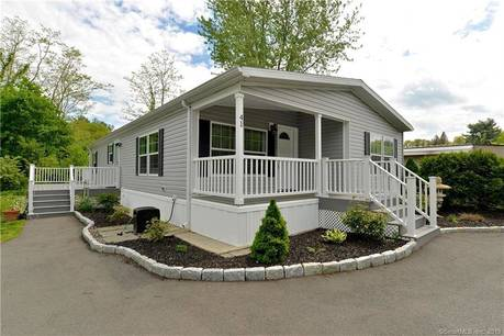 Single Family Home Sold in Newtown CT 06470.  mobile-home house near waterfront.
