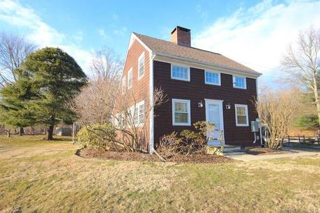 Single Family Home Sold in Darien CT 06820. Colonial house near river side waterfront with 1 car garage.