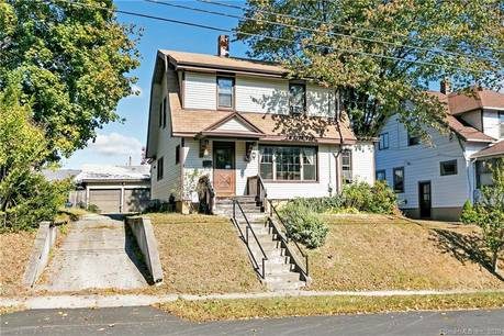 Single Family Home Sold in Stratford CT 06614. Old colonial house near waterfront with 2 car garage.