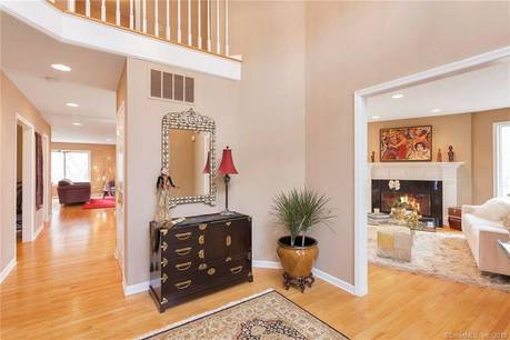 Single Family Home Sold in Stamford CT 06903. Contemporary, colonial house near waterfront with 2 car garage.