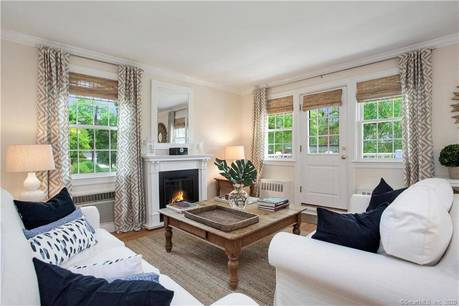 Cooperative Home Sold in Greenwich CT 06830.  house near beach side waterfront with 2 car garage.