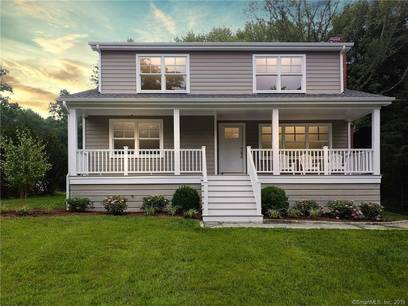 Single Family Home Sold in Fairfield CT 06824. Colonial house near river side waterfront with 2 car garage.