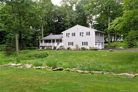 Single Family Home Sold in Ridgefield CT 06877.  house near river side waterfront with 2 car garage.