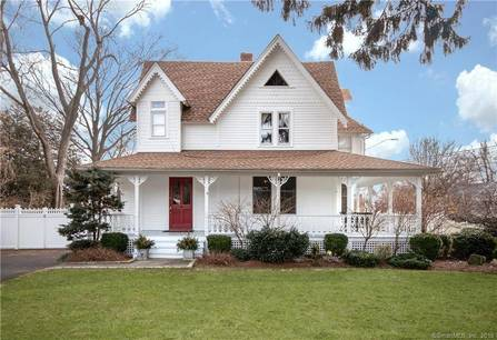 Single Family Home Sold in Norwalk CT 06854. Old victorian, colonial house near waterfront.
