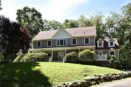Single Family Home Sold in Stamford CT 06903. Colonial farm house near waterfront with 2 car garage.
