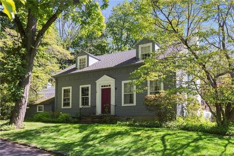 Single Family Home Sold in Stamford CT 06903. Old antique cape cod house near waterfront with 2 car garage.