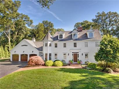Single Family Home Sold in Fairfield CT 06825. Colonial house near beach side waterfront with 3 car garage.