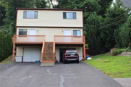 Multi Family Home Sold in Shelton CT 06484.  house near waterfront with 2 car garage.