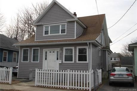 Multi Family Home Sold in Stratford CT 06614. Old  house near waterfront with 2 car garage.