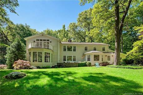 Single Family Home Sold in Westport CT 06880. Colonial house near river side waterfront with 4 car garage.