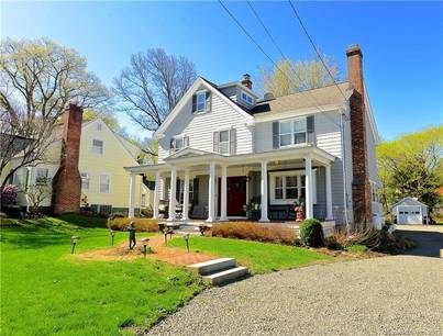 Single Family Home Sold in Ridgefield CT 06877. Old colonial farm house near waterfront with 1 car garage.